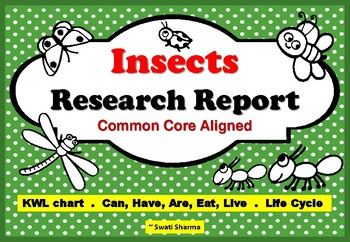 Insects Research Report