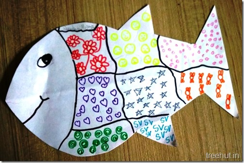 Pattern Art Pop Art by kids (1)