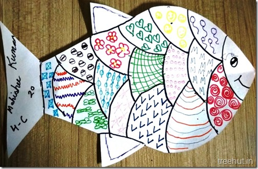 Pattern Art Pop Art by kids (2)