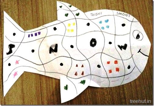 Pattern Art Pop Art by kids (5)