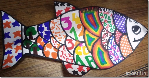 Pattern Art Pop Art by kids (8)