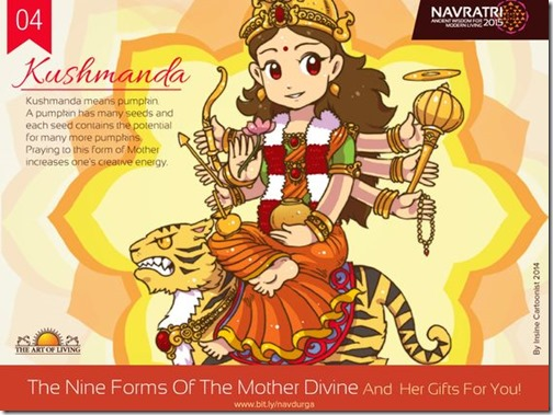 Durga maa, Art of Living Navratri (11)