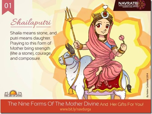 Durga maa, Art of Living Navratri (12)