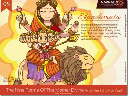 Durga maa, Art of Living Navratri (13)