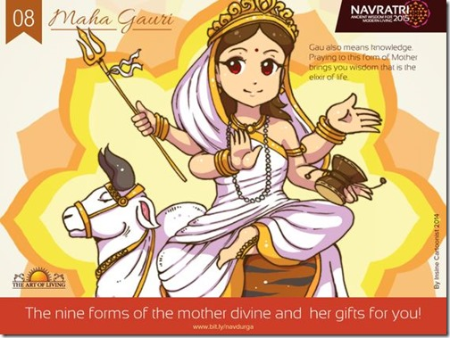 Durga maa, Art of Living Navratri (16)