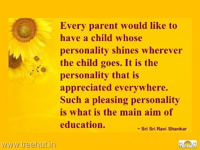 quote by sri-sri-ravi-shankar on education