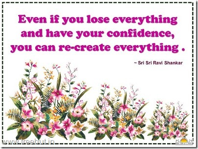 confidence quotes-by-sri-sri-ravi-shankar