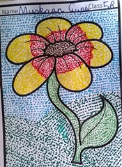 dot-art-flower by muskan gupta lmgc lko