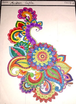 paisley-art design