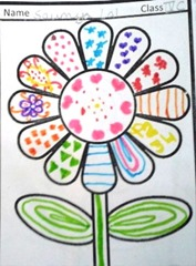 pattern-art child art idea