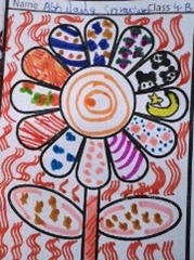 pattern-art idea by child
