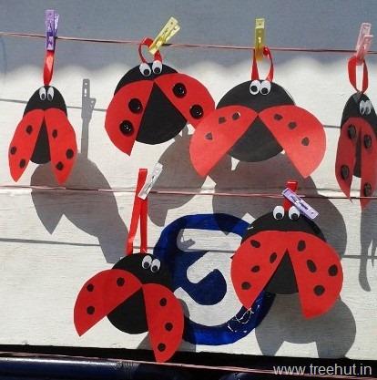 Cd Craft Idea Garden Critter Ladybird