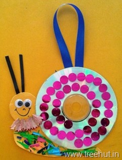 cd craft idea snail