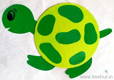 cd-craft-tortoise rainy day activity with kids motor control