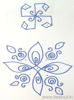 indian-rangoli-designs swastika