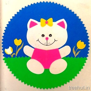 cat craft for preschool kids