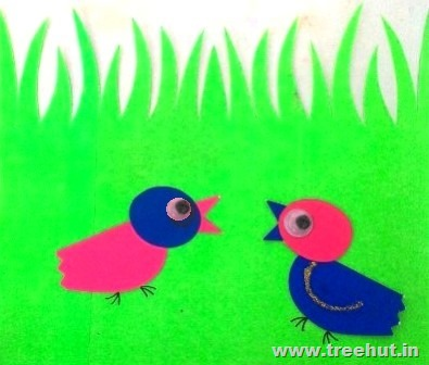 Easy Paper Cutting Birds
