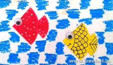 origami fish and crayons craft idea therapy for adults