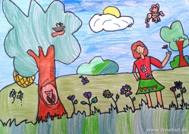 child art by grade 2 children
