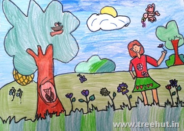 child art by Anushri Singh Study Hall India