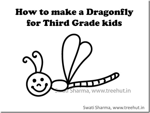 drawing video for kids dragonfly