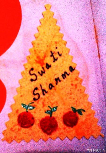 Fruit Name Tag For Children