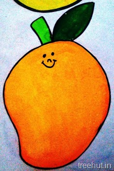 mango fruit name tag for school children 7