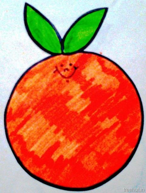 Fruit Name Tag For Children
