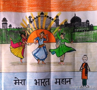 Incredible India Art by Aryama Singh Lucknow