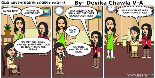 Comic Strip by Devika Chawla Study