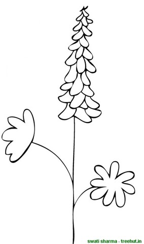 Flower Coloring Pages 2