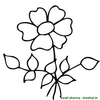 flower coloring pages (5)