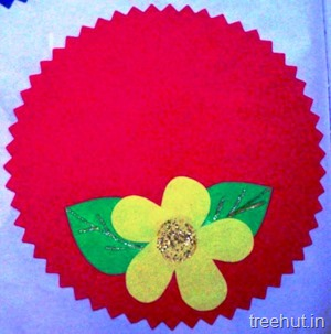 flower nametag
