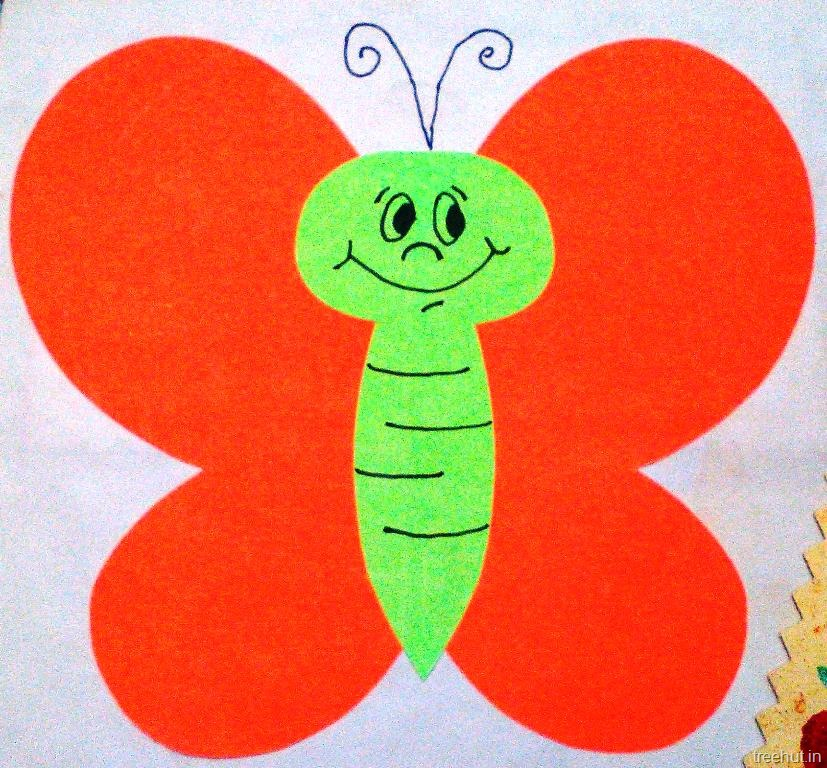 Bee And Butterfly Name Plate For Kids