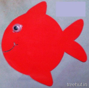 fish name tags for preschool kids