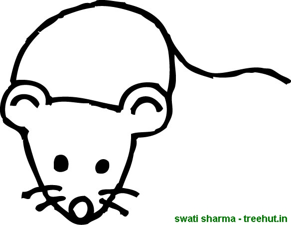 Free Mouse coloring pages