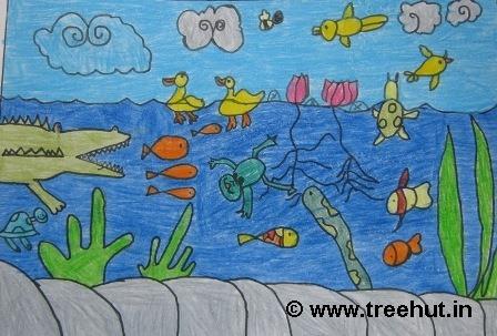Child Art by Grade 2 Kids