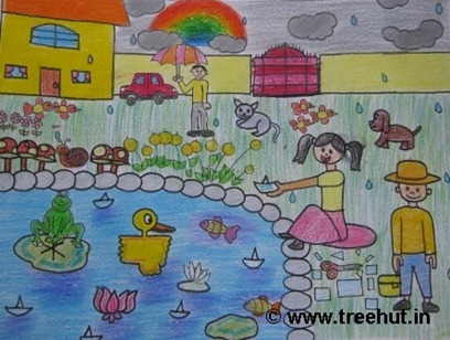 Child art by Aishwarya Srivastava Study Hall school Lucknow India