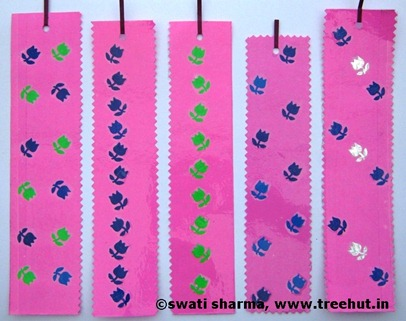 Handmade bookmarks Craft therapy