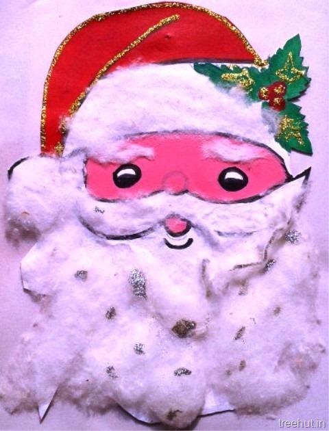 santa claus paper craft - Santa Claus Craft