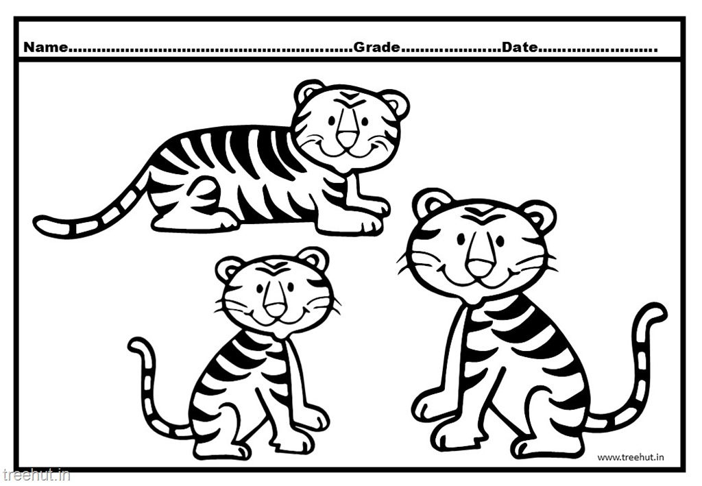 Free Tiger Cub Coloring Pages, Download Free Clip Art, Free Clip ... | 709x1024