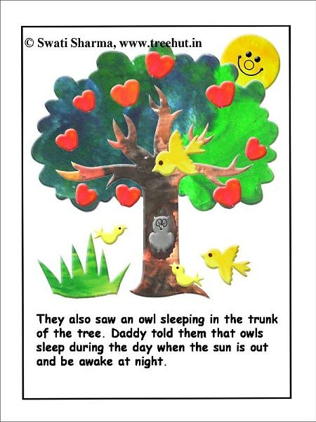 Childrens story for classroom activities