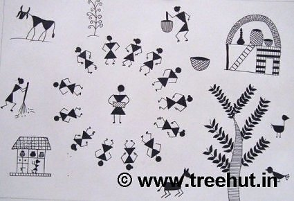 Warli Art By Children