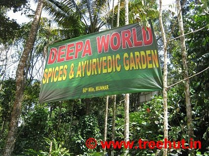 Ayurvedic heaven, Deepa World, Spices and Ayurveda Garden, Munnar, Kerala, India