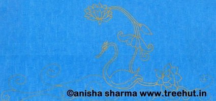 Indian Folk art motif by Anisha Sharma