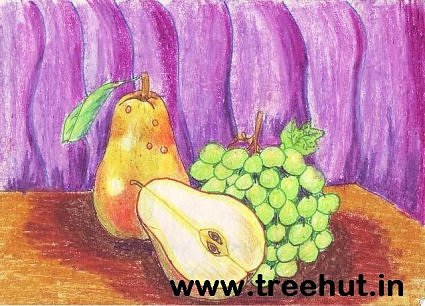 Fruits Still Art by Nikita Khanna