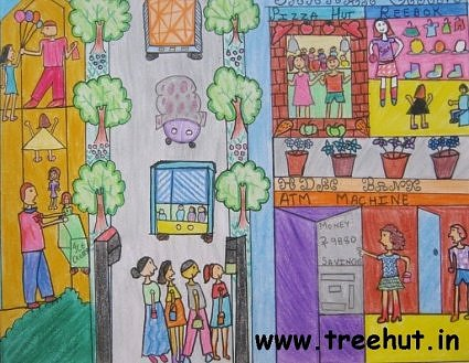 Child art by Vanshika Chaturvedi