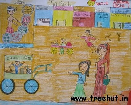 child art India by Maryam Asakura