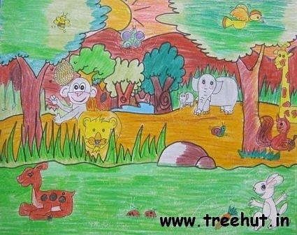 Art by Child Artist Noor Wahid