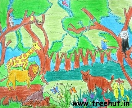 Art by child artist Anandi Pandey
